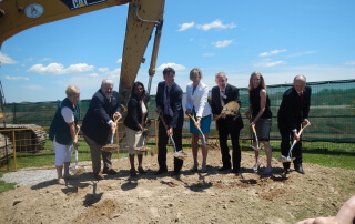 Milton District Hospital Foundation Ground Breaking
