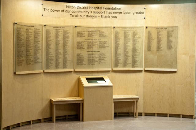 MDHF Donor Wall